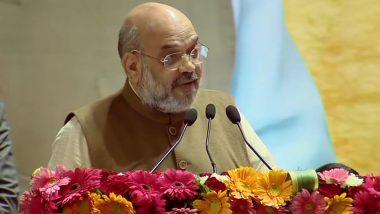 दिल्ली विधानसभा चुनाव 2020: 'जीत की गूंज' में बोले अमित शाह- 'कमल का बटन इतना जोर से दबाना कि 8 फरवरी की शाम शाहीन बाग वाले उठकर चले जाए'