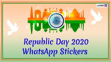 Republic Day 2020 WhatsApp Stickers: गणतंत्र दिवस पर शुभकामनाएं देने के लिए वॉट्सऐप पर ऐसे बनाए देशभक्ति वाले स्टीकर