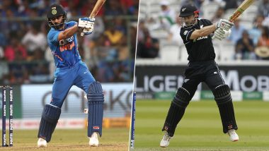 IND 92/1 in 10 Overs | India vs New Zealand 3rd T20 Match 2020 Live Score Update: टीम इंडिया ने 10 ओवर में बनाए 92/1