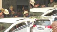 पटना के थाने से शरजील इमाम को लाया गया एयरपोर्ट, पुलिस और मीडिया में झड़प