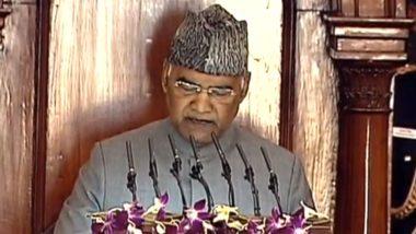 Budget 2020: राष्ट्रपति रामनाथ कोविंद ने किया CAA का जिक्र, कहा- यह कानून बनाकर गांधी जी की इच्छा को पूरा किया गया- यहां पढ़ें अभिभाषण की अन्य बड़ी बातें