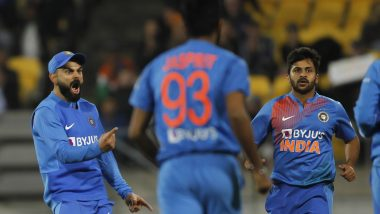 IND vs NZ 4th T20 Match 2020: टीम इंडिया ने एक बार फिर सुपर ओवर में कीवी टीम को दी शिकस्त, सीरीज में बनाई 4-0 की बढ़त