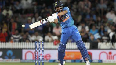 IND vs NZ 4th T20 Match 2020: मनीष पांडे की जुझारू पारी, टीम इंडिया ने न्यूजीलैंड को दिया 166 रन का लक्ष्य