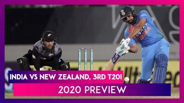 IND vs NZ, 3rd T20I 2020 Preview: New Zealand के खिलाफ सीरीज़ जीतने के इरादे से उतरेगी India