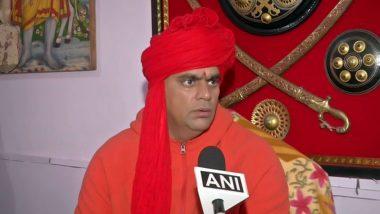 सावरकर-गोडसे विवाद: स्वामी चक्रपाणि ने कहा- हमने सुना है राहुल गांधी समलैंगिक हैं