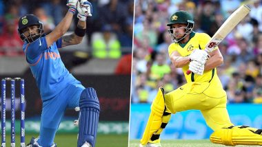 AUS 121/2 in 20 Overs (Target 340/6) | India vs Australia 2nd ODI 2020 Live Score Update: ऑस्ट्रेलिया की सधी शुरुआत, 20 ओवर में बनाए 121/2