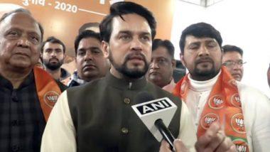 दिल्ली विधानसभा चुनाव 2020: बीजेपी नेता अनुराग ठाकुर का फिर से विवादित बयान, बोले- 11 तारीख को रिजल्ट आते-आते साफ हो जाएगा शाहीन बाग