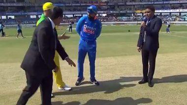 Ind vs Aus 2nd ODI 2020: राजकोट में ऑस्ट्रेलिया ने जीता टॉस, लिया पहले गेंदबाजी करने का फैसला