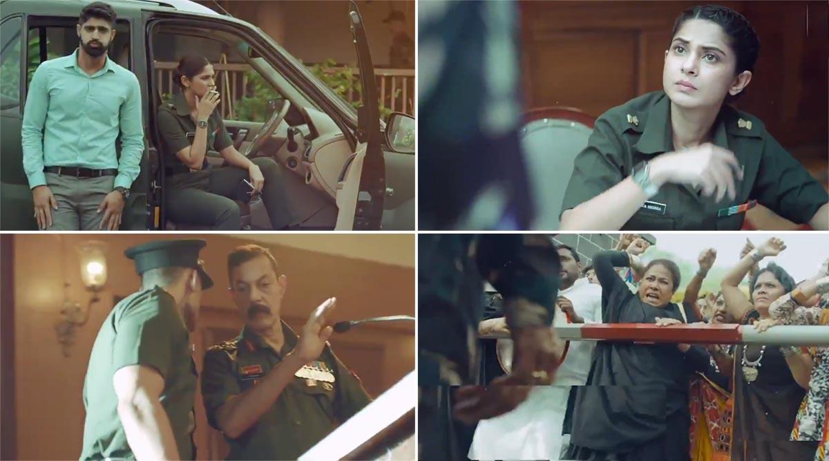 जेनिफर विंगेट की वेब सीरीज Code M का धमाकेदार टाइटल ट्रैक 'फौज की दहाड़' हुआ रिलीज, देखें Video