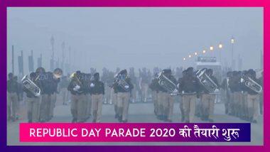 भयानक ठंड के बीच Republic Day Parade 2020 की तैयारी Delhi में शुरू