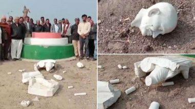 गुजरात के अमरेली में अज्ञात लोगों ने महात्मा गांधी की प्रतिमा तोड़ी, मामला दर्ज- आरोपियों की तलाश जारी