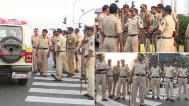नागरिकता कानून और NRC के विरोध में आज महाराष्ट्र बंद, मुंबई में किए गए सुरक्षा के कड़े इंतजाम