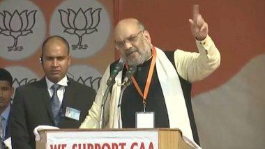 दिल्ली विधानसभा चुनाव 2020: अमित शाह ने कहा- आपका वोट बताएगा कि दिल्ली के मतदाता शाहीन बाग वालों के साथ है या भारत माता के बेटों के साथ