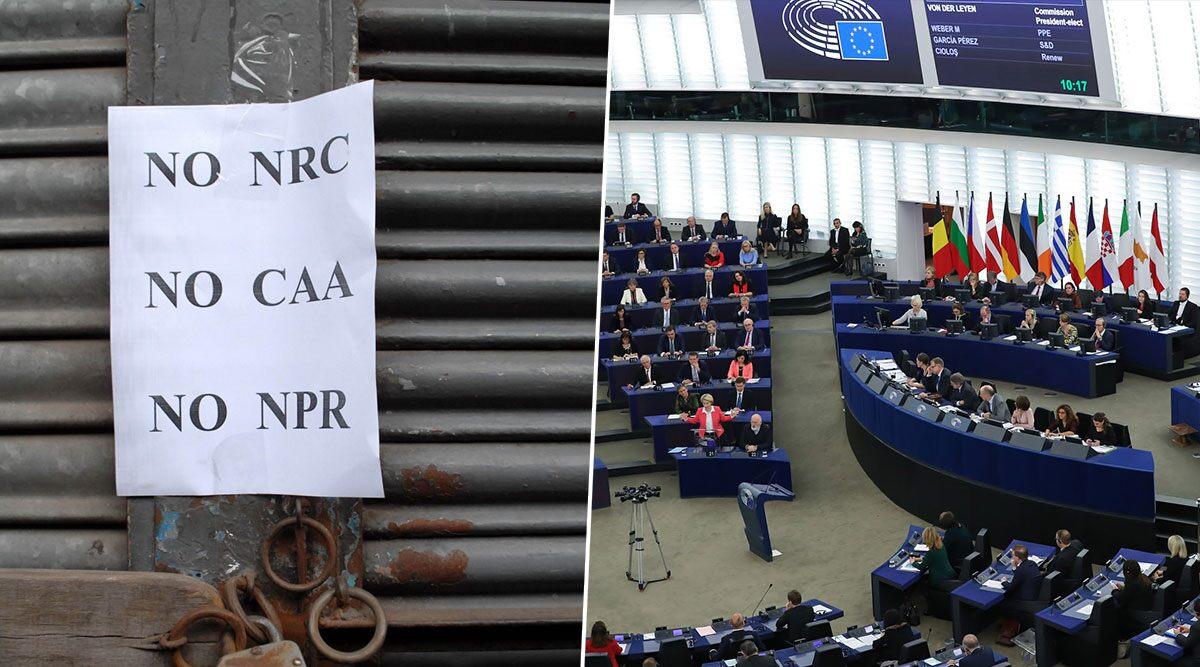 CAA: भारत की बड़ी जीत, यूरोपीय संसद में नागरिकता कानून के खिलाफ पास होने वाले प्रस्ताव पर वोटिंग टली