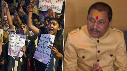 CAA के विरोध में बीजेपी विधायक नारायण त्रिपाठी ने कहा- धर्म के आधार पर लोगों को मत बांटो