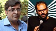 अर्नब गोस्वामी से इंडिगो की फ्लाइट में उलझे कॉमेडियन कुणाल कामरा, Indigo के बाद एयर इंडिया ने सफर पर लगाई रोक