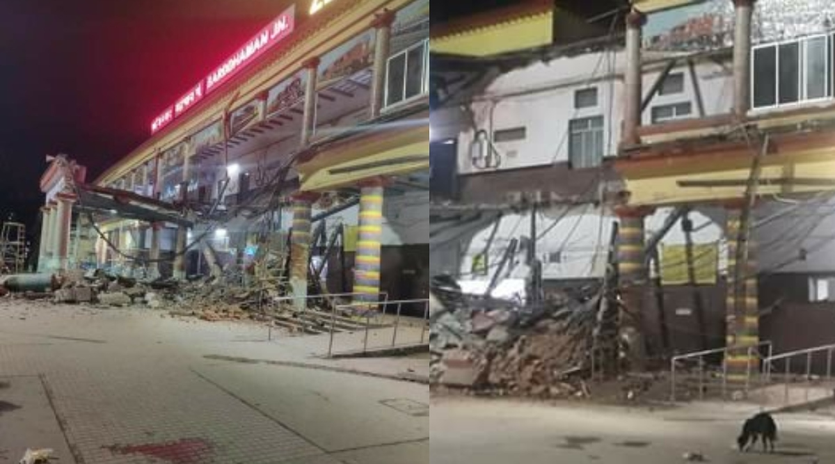पश्चिम बंगाल में बड़ा हादसा, बर्धमान रेलवे स्टेशन की इमारत भरभराकर गिरी- मलबे में कई यात्री दबे