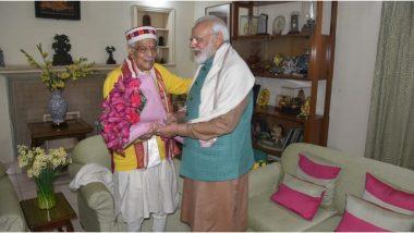 बीजेपी नेता मुरली मनोहर जोशी  के जन्मदिन पर पीएम मोदी ने दी शुभकामनाएं
