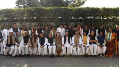 सोनिया गांधी और राहुल ने छत्तीसगढ़ के CM भूपेश बघेल और उनके मंत्रियों के साथ बैठक की