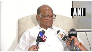 Shiv Sena vs Kangana row: कंगना रानौत के दफ्तर पर हुई कार्रवाई पर फिर बोले शरद पवार, राज्य सरकार का कोई रोल नहीं, BMC ने तोड़ा दफ्तर