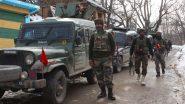 जम्मू-कश्मीर के अवंतीपोरा में बड़ी मुठभेड़ शुरू, सुरक्षाबलों ने 2-3 आतंकियों को घेरा