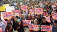 CAA के समर्थन में झारखंड में निकाली गई की रैली में पत्थरबाजी, दर्जनों घायल