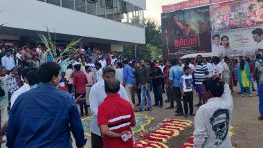 सुपरस्टार रजनीकांत की फिल्म दरबार हुई रिलीज, थियेटर्स के बाहर फैंस का लगा मेला
