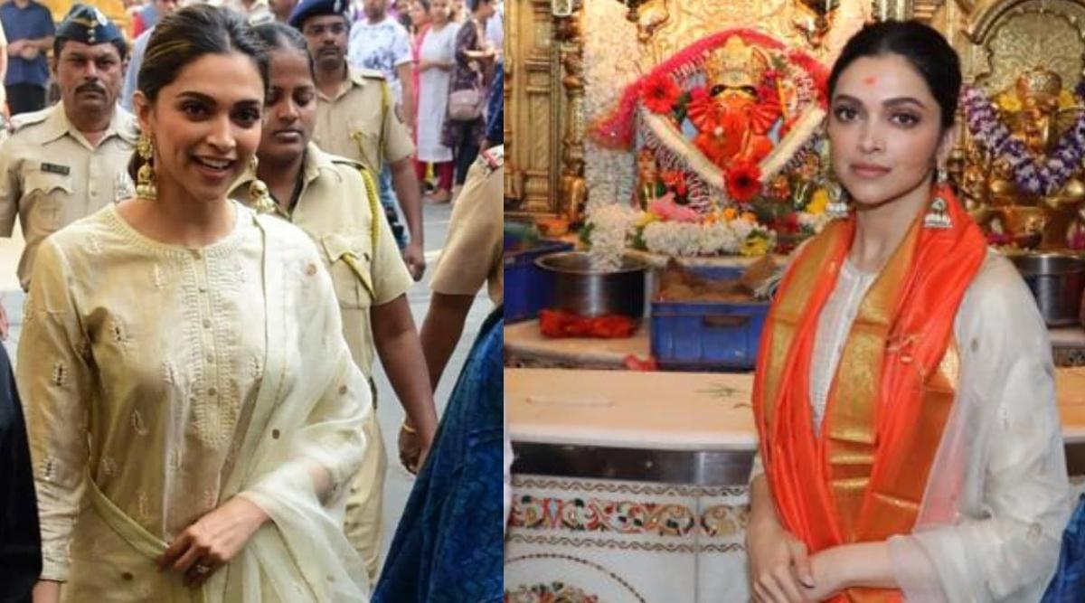 फिल्म छपाक के कामयाबी की दुआ मांगने दीपिका पादुकोण पहुंची सिद्धिविनायक मंदिर, देखिए Photos