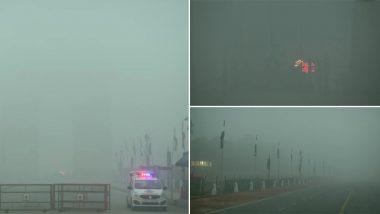मौसम ने बदला मिजाज: दिल्ली-NCR में छाया घना कोहरा, रेल और हवाई यातायात हुई प्रभावित