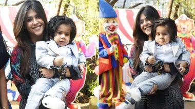 एकता कपूर ने बेटे रवि के पहले जन्मदिन पर दुनिया को दिखाई उसकी पहली झलक, फोटो और वीडियो आया सामने