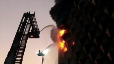 गुजरात: सूरत के रघुवीर मार्केट में लगी भीषण आग, घटनास्थल पर पहुंची फायर ब्रिगेड की 40 गाड़ियां