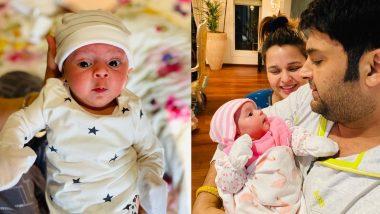 कपिल शर्मा ने शेयर की बेटी बेहद क्यूट तस्वीरें, साथ ही बताया उसका प्यारा नाम
