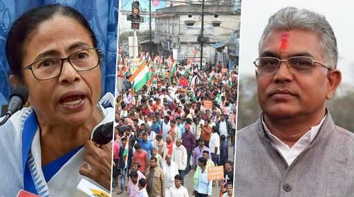 CAA Protests: दिलीप घोष के गोली मारने वाले बयान पर भड़की सीएम ममता बनर्जी, कहा- यह पश्चिम बंगाल है यूपी नहीं?