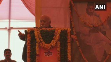 RSS प्रमुख मोहन भागवत का बड़ा बयान, कहा- हर भारतीय हिंदू, विविधता के बावजूद एक साथ रहना ही है हिंदुत्व