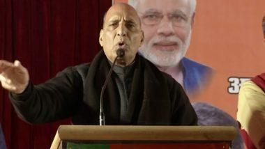 दिल्ली विधानसभा चुनाव 2020:  CAA-NRC पर चल रहे विवाद के बीच राजनाथ सिंह का बड़ा बयान, कहा- मुस्लिम भाइयों को कोई छू नहीं सकता है