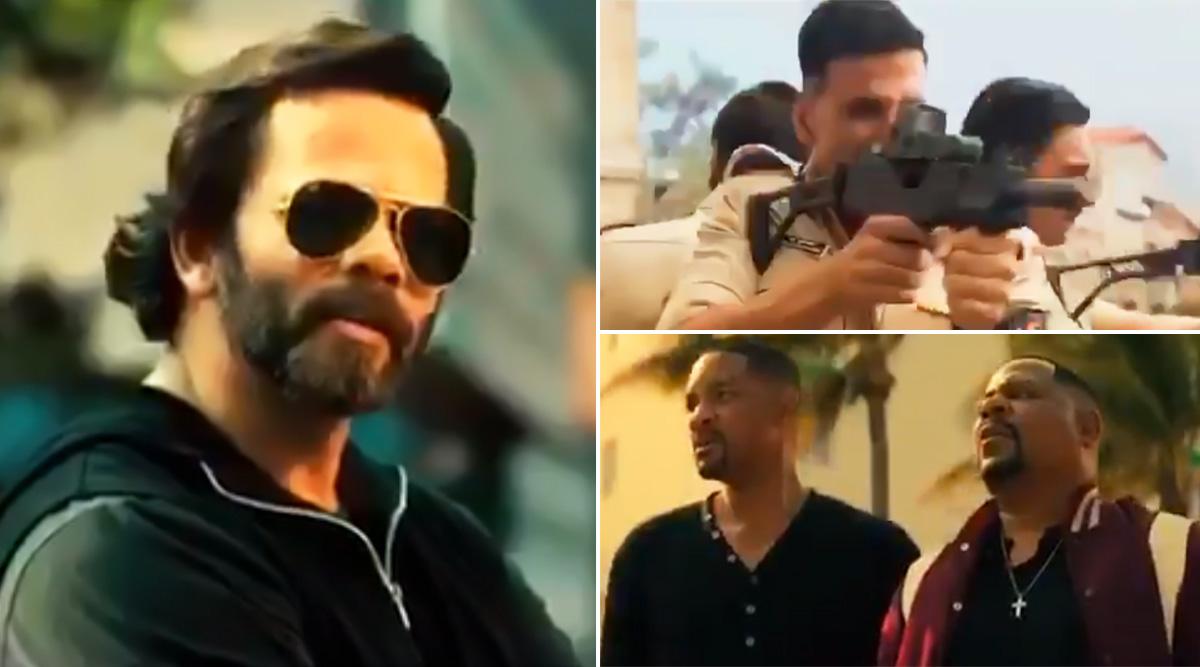 देसी के बाद रोहित शेट्टी ने मिलवाया अपनी विदेशी पुलिस से, अक्षय कुमार ने शेयर किया वीडियो