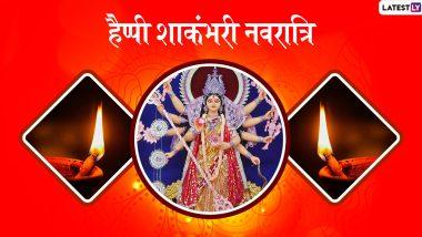 Shakambhari Navratri 2020 Wishes & HD Photos: इन शानदार हिंदी Facebook Greetings, WhatsApp Stickers, GIF Images और वॉलपेपर्स के जरिए दें प्रियजनों को शाकंभरी नवरात्रि की शुभकामनाएं
