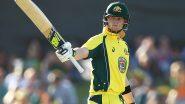 Ind vs Aus 3rd ODI 2020: बेंगलुरु में शतक के साथ स्टीव स्मिथ ने वनडे इंटरनेशनल क्रिकेट में पुरे किए 4000 रन