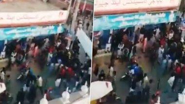 पाकिस्तान में ननकाना साहिब गुरुद्वारे पर पथराव,  प्रदर्शनकारियों ने नाम बदलने की दी धमकी, बढ़ाई गई सुरक्षा