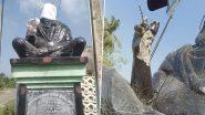 तमिलनाडु में पेरियार की मूर्ति से फिर तोड़फोड़, DMK प्रमुख स्टालिन ने की कड़ी कार्रवाई की मांग