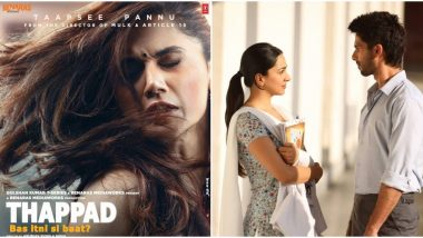 तापसी पन्नू की फिल्म 'थप्पड़' का ट्रेलर देख लोग बोले ये है कबीर सिंह को जवाब
