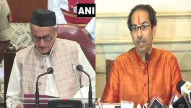 महाराष्ट्र: सीएम उद्धव ठाकरे द्वारा प्रस्तावित विभागों के बंटवारे को हरी झंडी, राज्यपाल भगत सिंह कोश्यारी ने दी मंजूरी