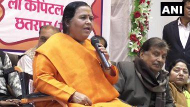 उमा भारती ने मध्य प्रदेश सरकार के खिलाफ खोला मोर्चा, कहा- CM कमल नाथ को वादे पूरा करने को मजबूर कर देगी बीजेपी