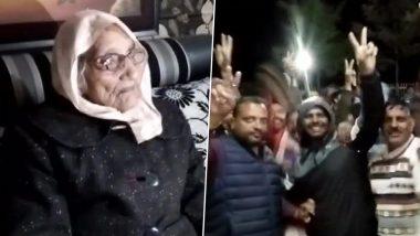 राजस्थान: पंचायत चुनाव में  97 साल की बुजुर्ग महिला विद्या देवी का चला जादू, प्रतिद्वंदी आरती मीणा कोई 207  वोटों से हराकर बनीं सरपंच