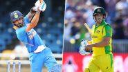 AUS 173/4 in 32 Overs | India vs Australia 3rd ODI 2020 Live Score Update: भारतीय टीम को मिली चौथी सफलता, मिशेल स्टार्क हुए कैच आउट