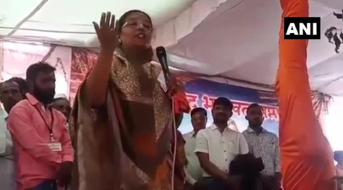 गाय को छूने से नकारात्मकता दूर होती है: महाराष्ट्र सरकार की मंत्री यशोमति ठाकुर