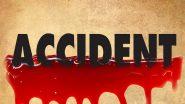 टै्क्टर ने कार को मारी टक्कर, एक व्यक्ति की मौत व तीन अन्य घायल