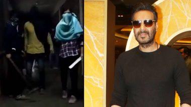 JNU हिंसा पर अजय देवगन ने तोड़ी चुप्पी, सभी से की शांति और भाईचारे की अपील