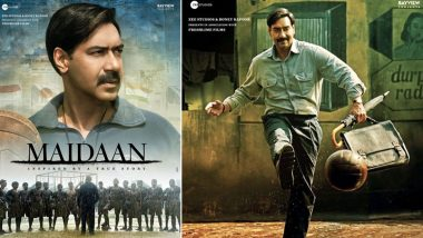 फिल्म मैदान से अजय देवगन का फर्स्ट लुक आया सामने, कोच के लुक में आए नजर