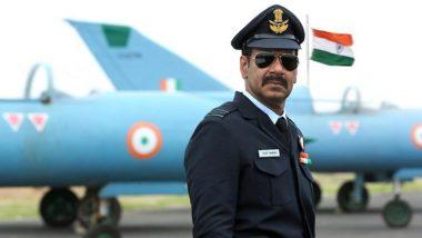 अजय देवगन बने स्क्वाड्रन लीडर, फिल्म 'भुज: द प्राइड ऑफ इंडिया' से सामने आया ये First Look